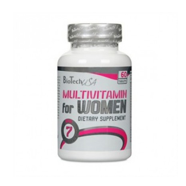Витамины BIOTECH Multivitamin for WOMEN, 60 таб