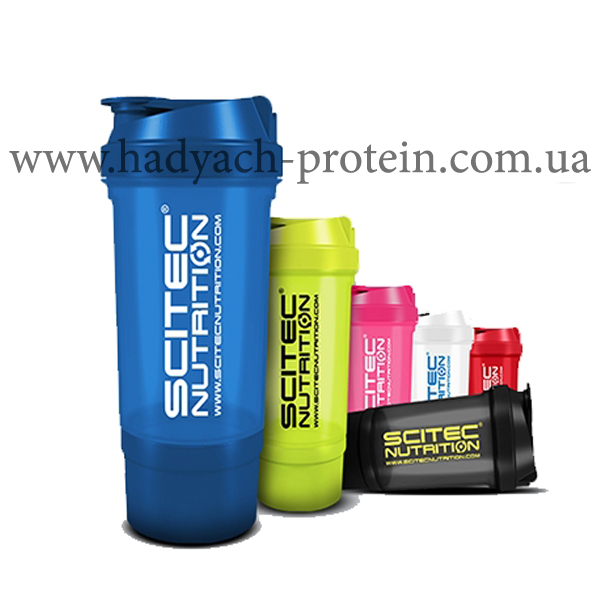 Шейкер SCITEC NUTRITION TRAVEL 2 in 1 500 ml